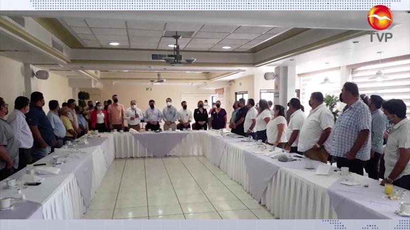 """Frente Transportista se suma a la organización""""Mazatlán nos Une"""" del Partido Sinaloense."""