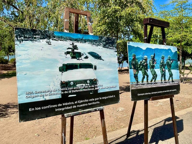 Conmemora el 60 Batallón de Infantería y sus soldados los 200 años de la Sedena