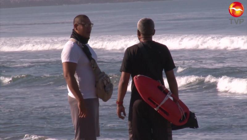 Más de 10 personas rescatadas durante el fin de semana: Escuadrón de Salvamento Acuático