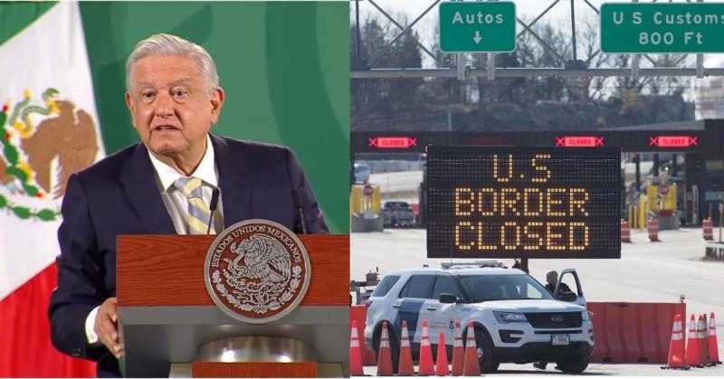 Anuncian la apertura de la frontera con EEUU. en noviembre