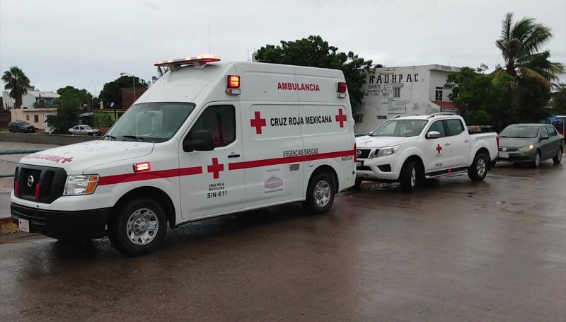 """Cruz Roja Mexicana recorre Mazatlán y Elota, tras el paso de """"Pamela"""""""