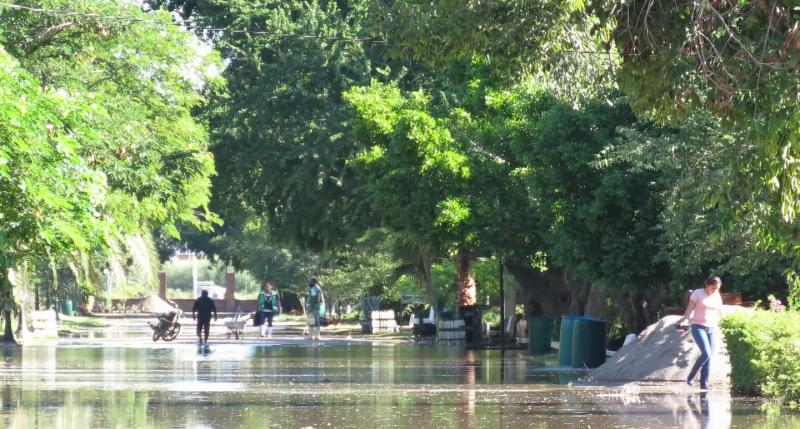 Parque Sinaloa se mantendrá cerrado por afectaciones por lluvias