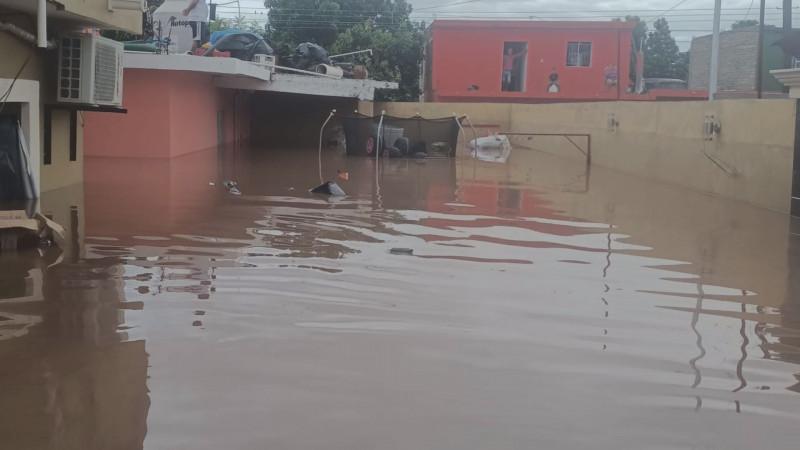 Mil 500 familias afectadas por inundaciones en El Rosario Sinaloa
