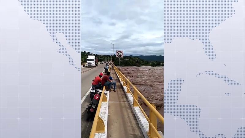 48 personas fueron evacuadas en el municipio de El Rosario