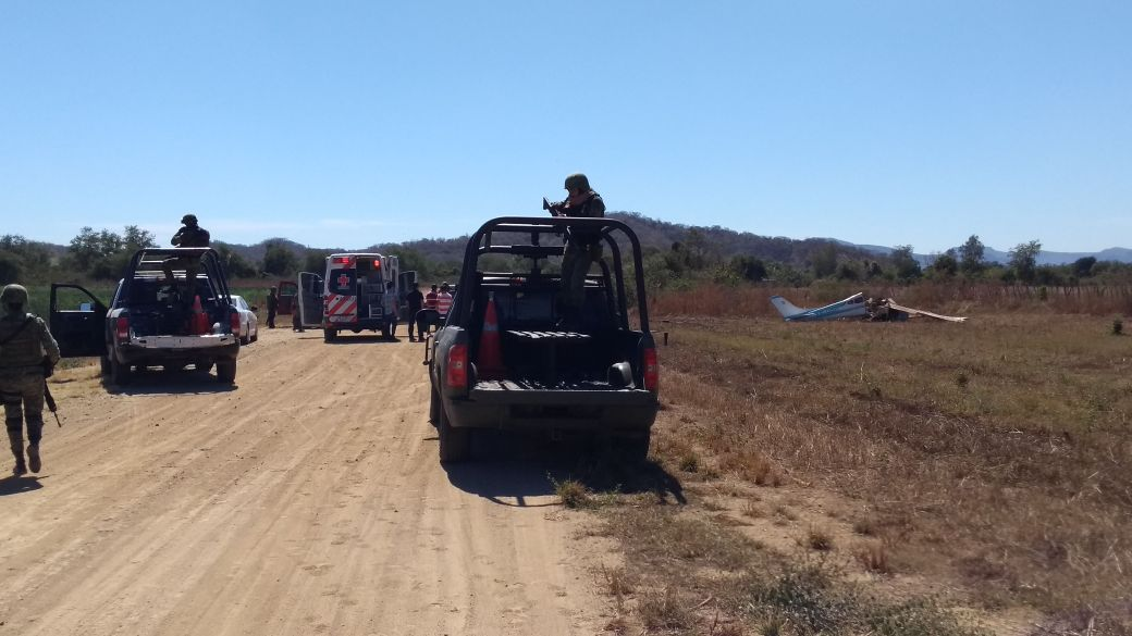 Dos muertos en avionetazo; trágico fin de dos parralenses