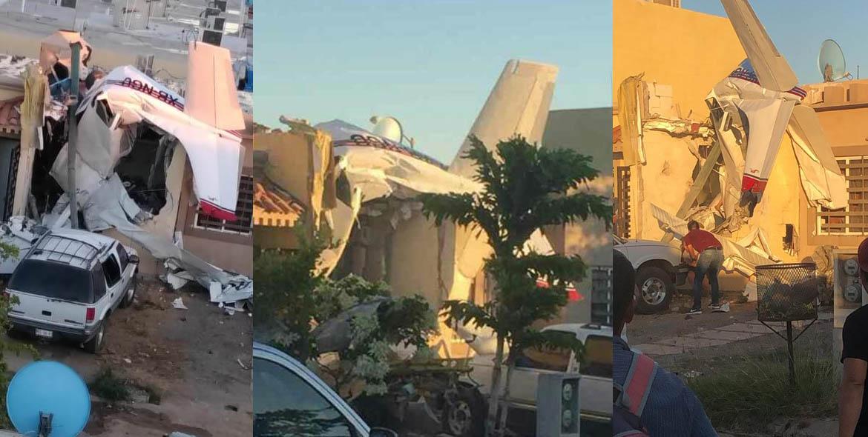 Surgen más videos sobre el accidente de una avioneta en Sinaloa
