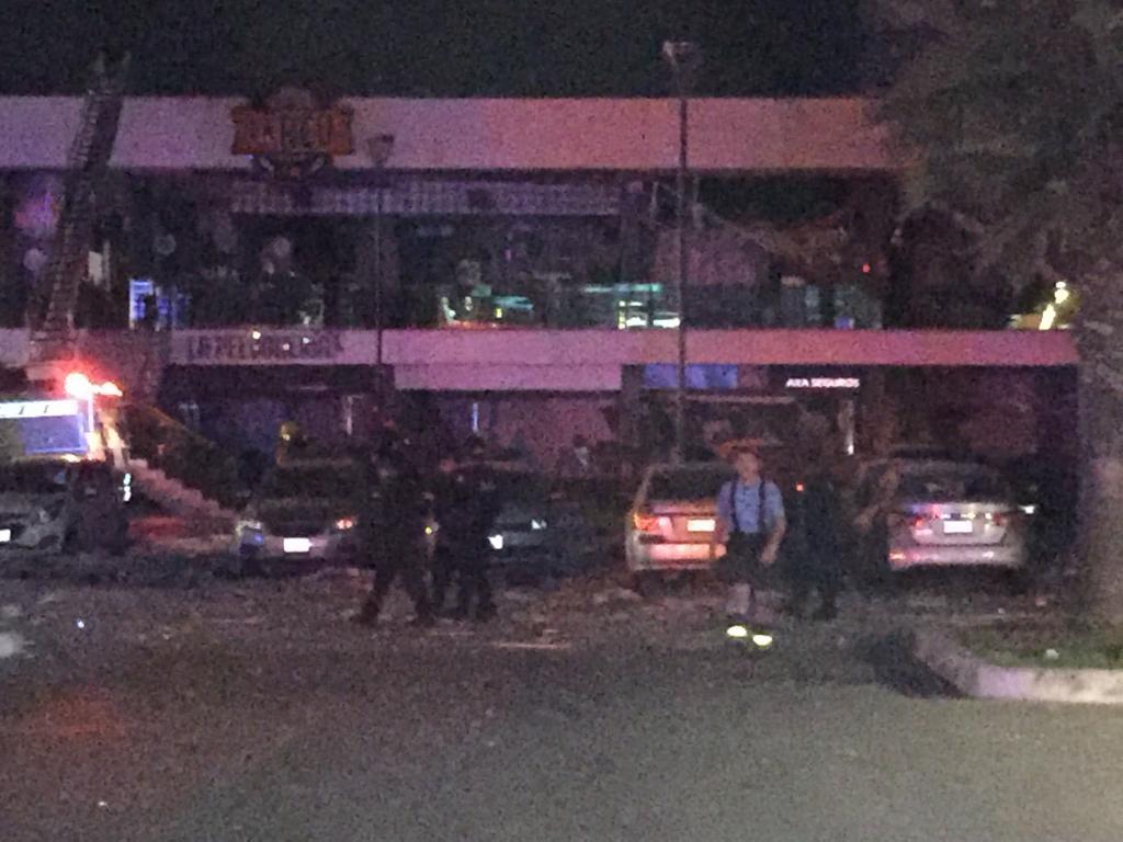 Se registra explosión en plaza comercial de Culiacán; cámaras captan el momento