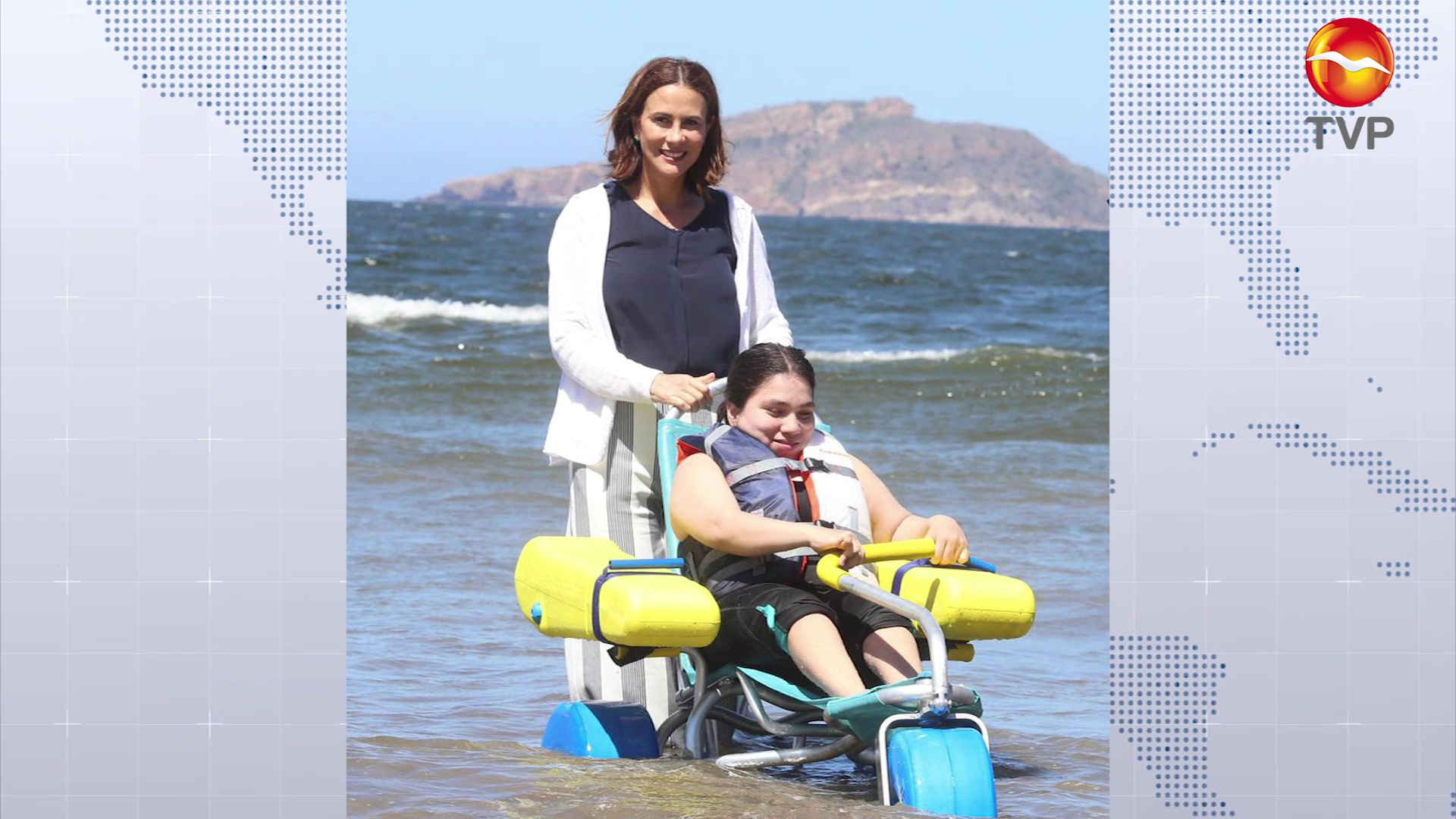 Successful inclusive beach program in Mazatlán