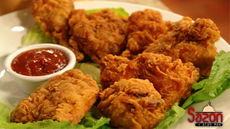 Pollo doble frito