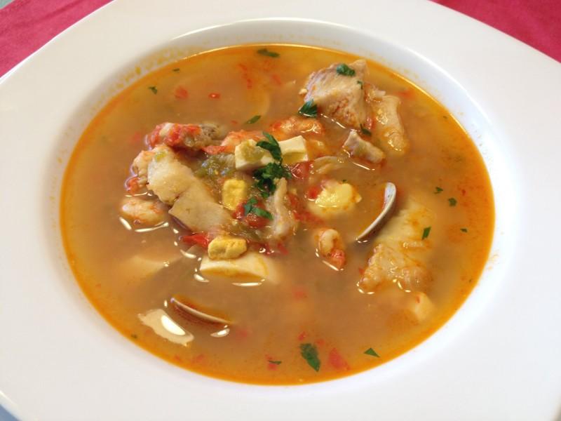 Sopa de Pescado Estilo Veracruz