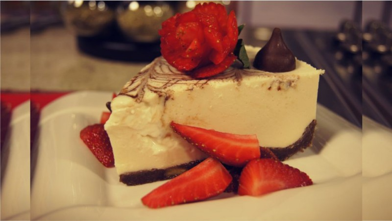 Cheese cake de crema irlandesa y chocolate