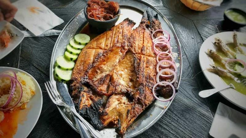 Cómo se hace el pescado zarandeado