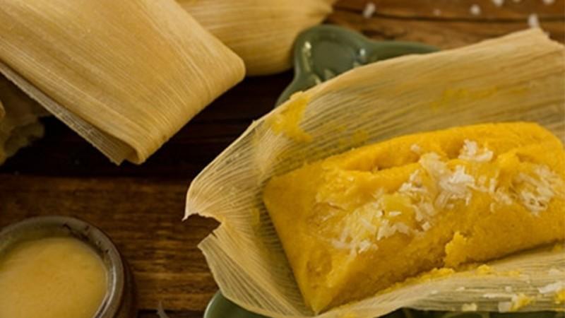 Cómo preparar tamales dulces de piña