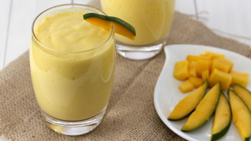 Cómo se hace un smoothie de mango