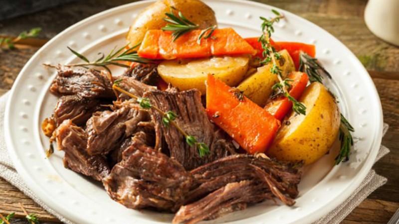 Cómo preparar estofado de carne y papa