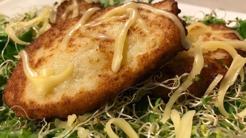 Cómo preparar tortitas de coliflor