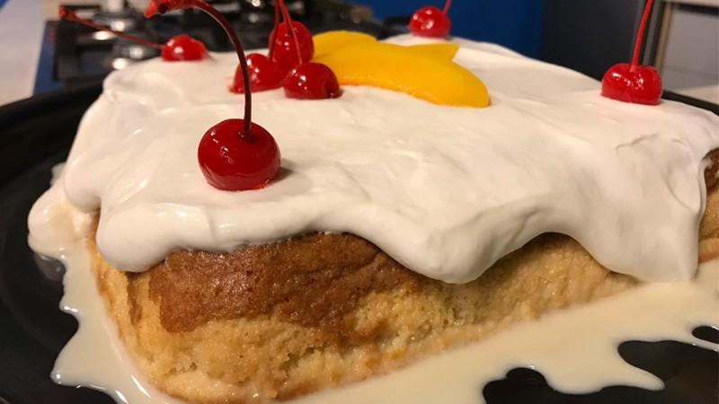 Cómo preparar un pastel de tres leches