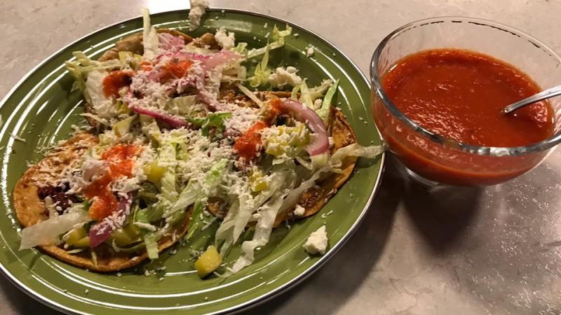 Cómo preparar enchiladas del suelo