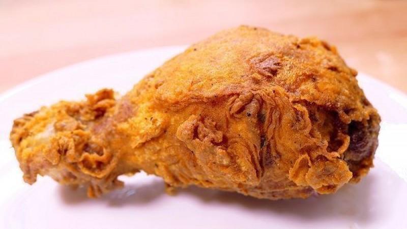 Cómo preparar pollo frito