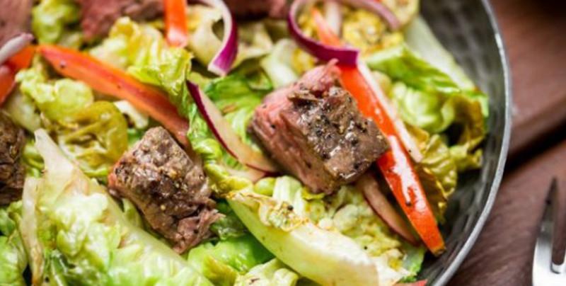 Prepara una rica ensalada con Carne de Res