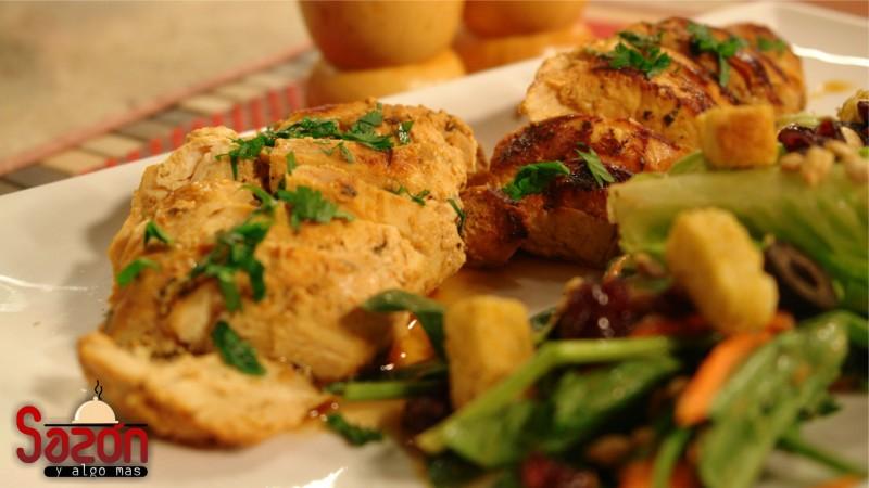 Pollo libanés