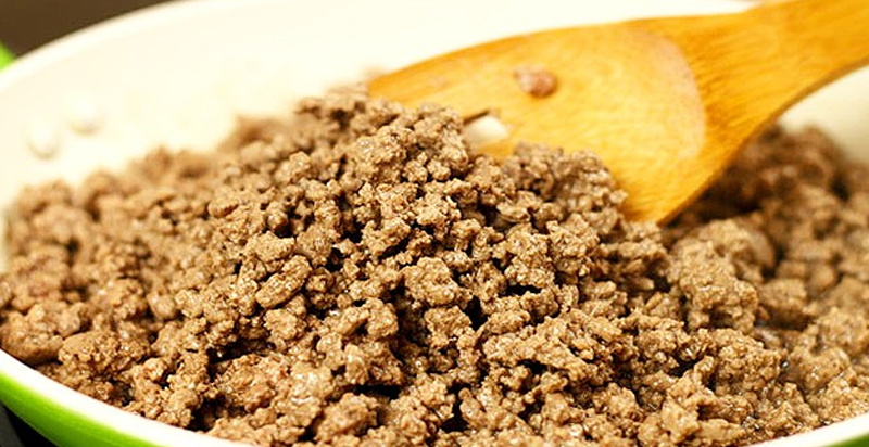 Cómo hacer receta de Carne molida con papas