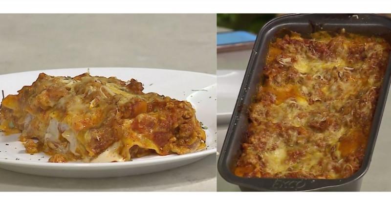 Aprende a cocinar fácilmente una rica lasaña con salsa boloñesa