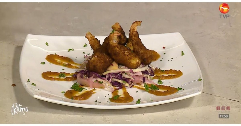 Lúcete ante las visitas y tu familia con estos deliciosos camarones roca (video receta)