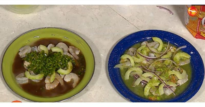 Te enseñamos dos formas de preparar aguachile estilo Sinaloa (video receta)