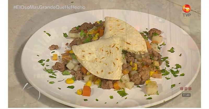 Te enseñamos a preparar un mexicanísimo y saludable picadillo de res (video receta)