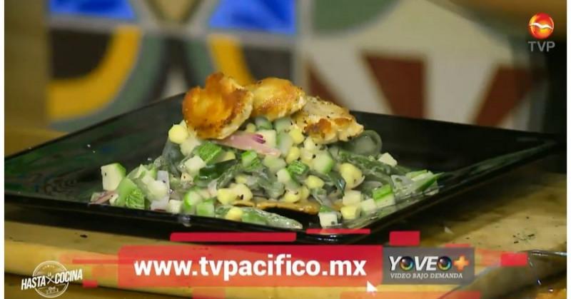 Hoy aprenderás a cocinar colache de calabaza con pollo (video receta)