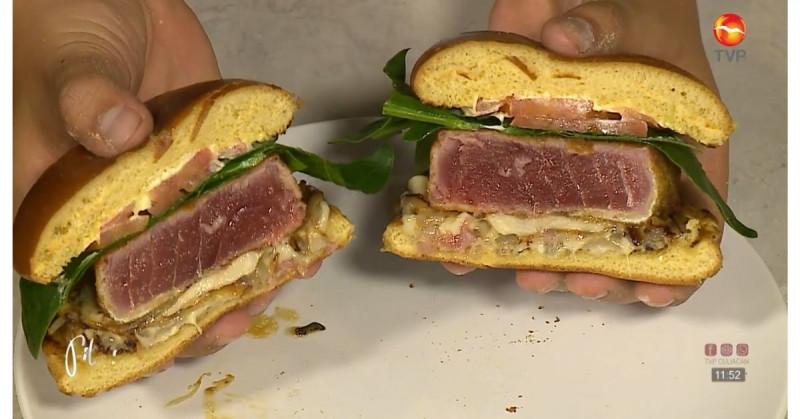 Te enseñamos a preparar hamburguesas de atún frito (video receta)