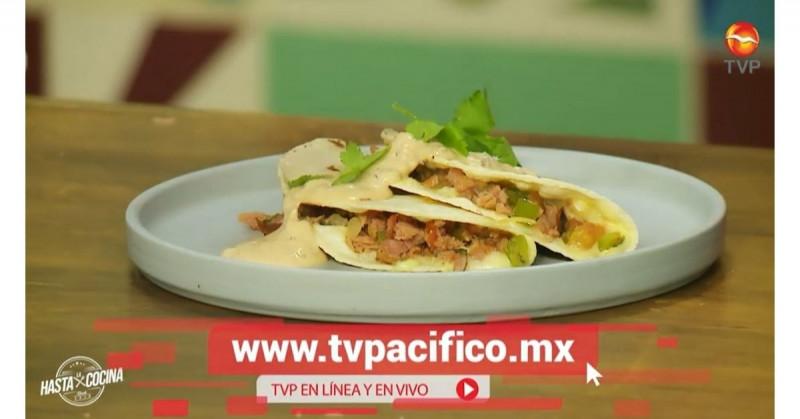 De Sinaloa para el mundo, unos sabrosos tacos gobernador de marlin (video receta)