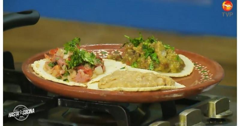 Ahora podrás armar tu propia taquiza de chicharrón y marlin (video receta)