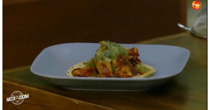 Hoy te enseñamos a preparar unos ricos tacos de pollo adobado (video receta)
