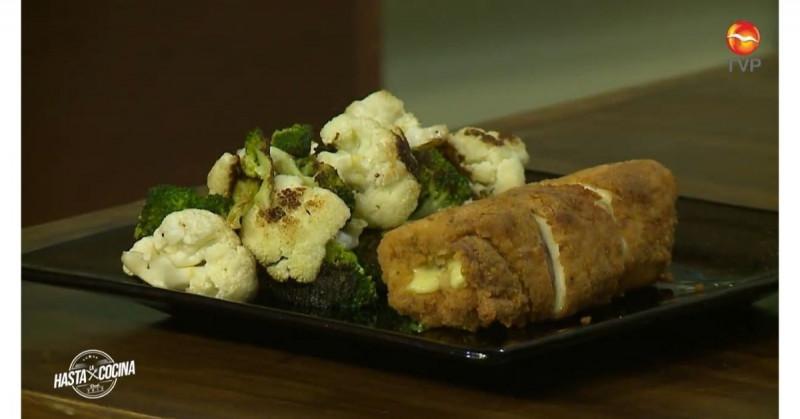 Hoy aprenderás a preparar pollo a la cordon bleu (video receta)