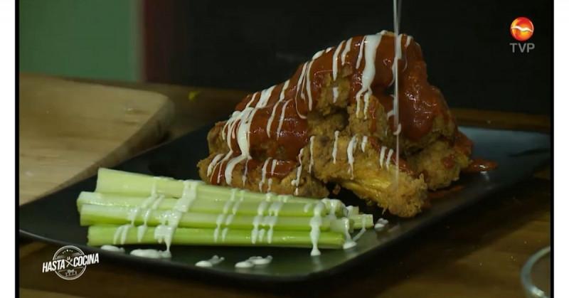 Paso a paso te enseñamos a preparar unas ricas alitas buffalo (video receta)