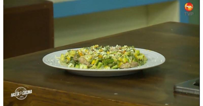 Nuestro colache de calabaza con carne de puerco le encantará a tu familia (video receta)